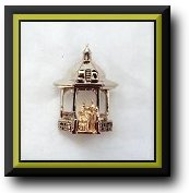 Enlarged View of Bride & Groom Gazebo Jewelry