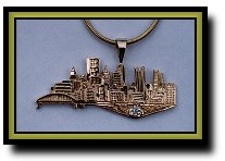 City Of Pittsburgh Jewelry Blowup